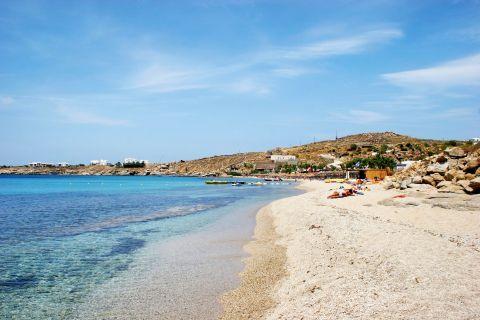 Paradise: The popular Paradise beach in Mykonos