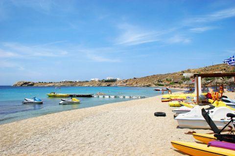 Paradise: Watersport facilities