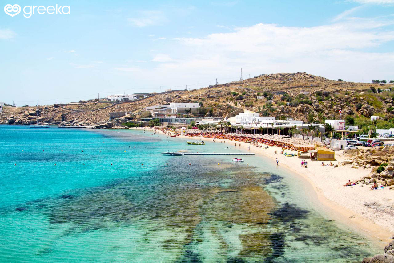 Paradise Beach Mykonos Beaches