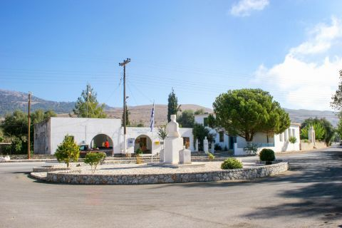 Anopolis: The central square of Anopolis village