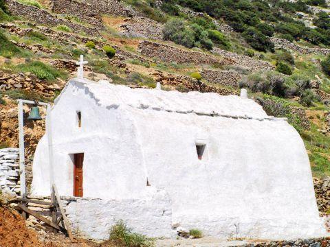 Arkesini: A small white chapel
