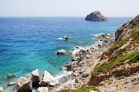 Agia Anna: Rocky landscape