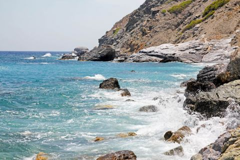 Agia Anna: Stunning waters and rock formations
