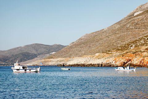 Agios Pavlos: Fishing boats