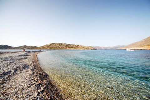 Agios Pavlos: Crystal clear waters
