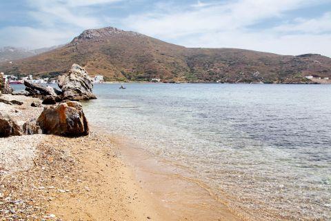 Agios Panteleimon: At agios Panteleimon beach