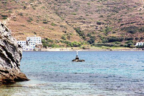 Agios Panteleimon: Sea view and hills