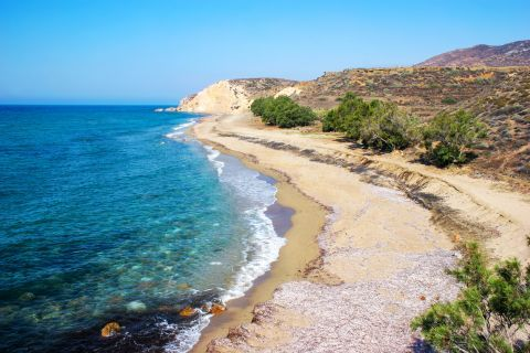 Roukounas: Panoramic view of Roukounas Beach