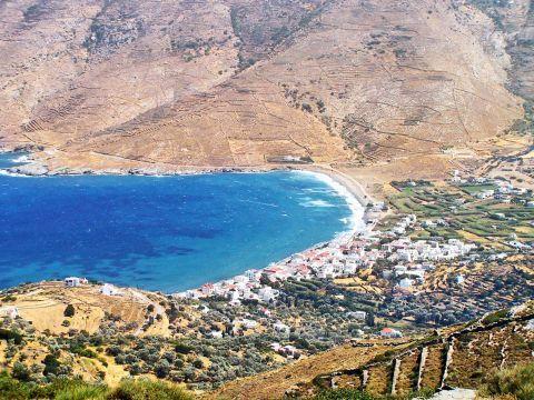 Ormos beach: Beautiful landscape
