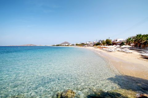 Agia Anna: Crystal clear waters