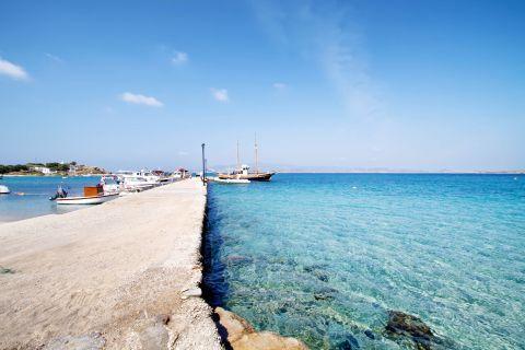 Agia Anna: The small port of Agia Anna