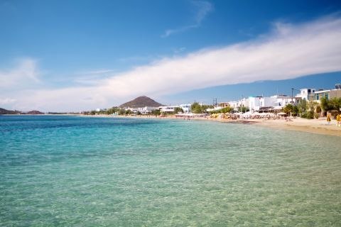 Agia Anna: Azure waters