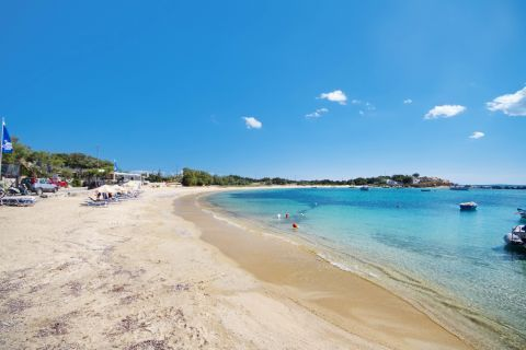 Agia Anna: Sand and crystal clear waters