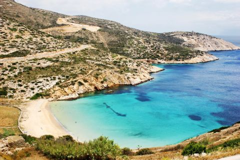 Kendros: Panoramic view of Kendros beach