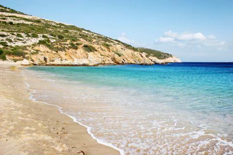 Kendros: The coast of Kendros beach
