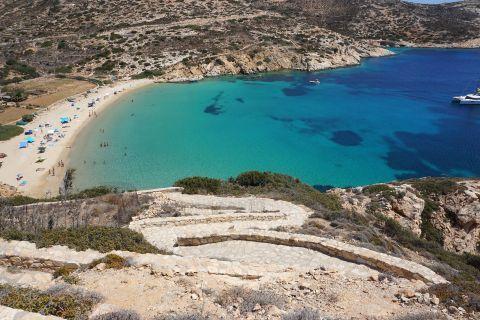 Kendros: The path to Kedros beach