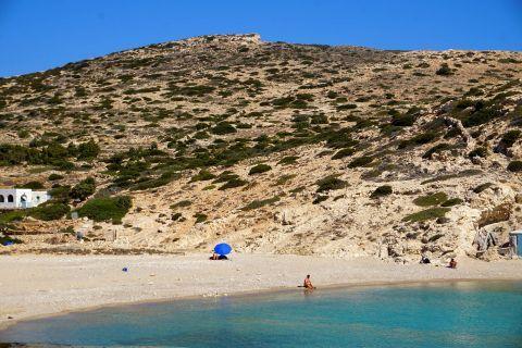 Kalotaritissa: Relaxing by the beach