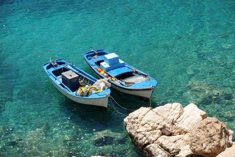 Kalotaritissa: Fishing boats