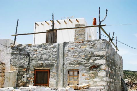 Panagia: An old, stone built building