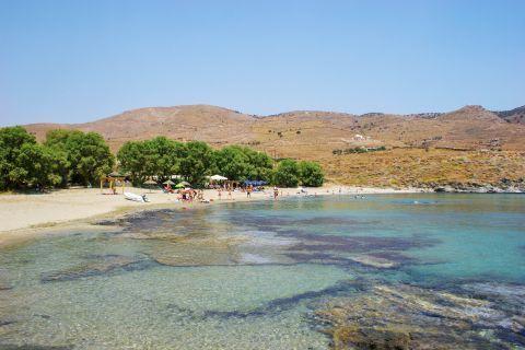 Koundouros beach: Amazing waters
