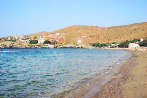 Korissia beach: Korissia beach