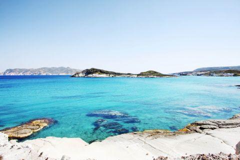 Agios Georgios: Amazing waters