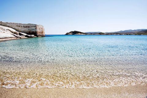Agios Georgios: Crystal clear waters