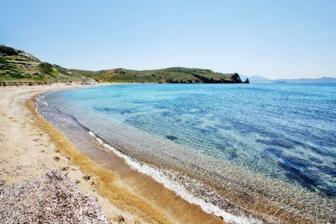 Ellinika: The shore of Ellinika beach