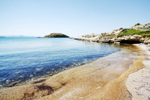 Ellinika: Sandy beach