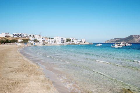 Megali Ammos: Sandy beach