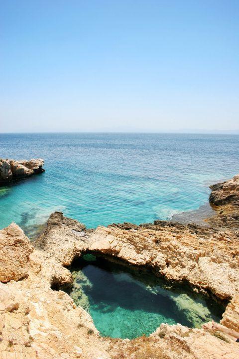 Caves before Pori: Amazing seaview
