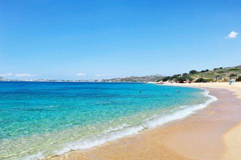 Mikri Vigla: Azure waters