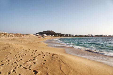 Mikri Vigla: Sand and turquoise waters