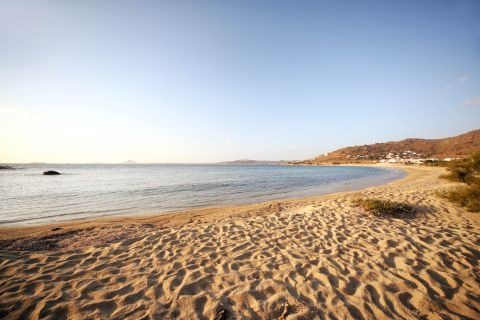 Mikri Vigla: Beautiful landscape of Mikri Vigla beach
