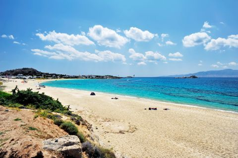 Mikri Vigla: Beautiful landscape of the beach