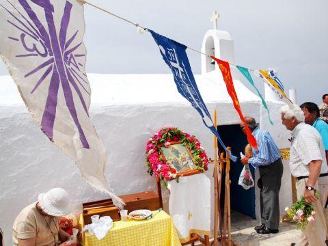 Mikri Vigla: The festivals in Panagia Parthena