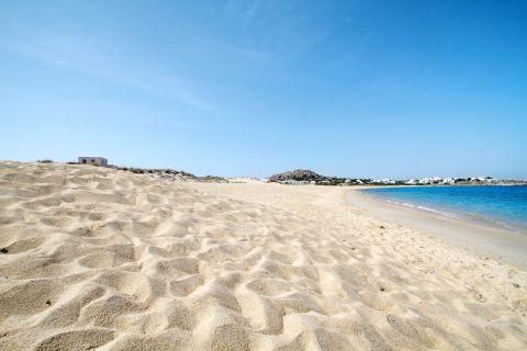 Mikri Vigla: Sandy beach