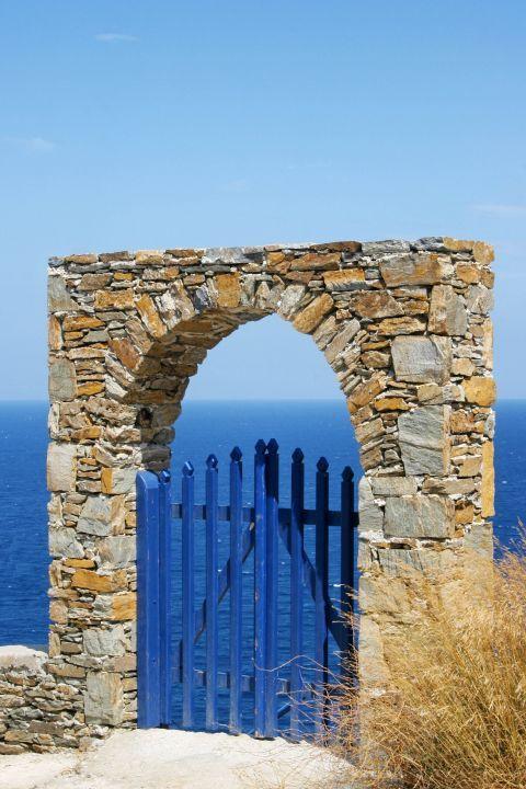 Agios Dimitrios: Cycladic architecture