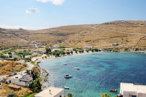 Agios Dimitrios beach: Beautiful panoramic landscape