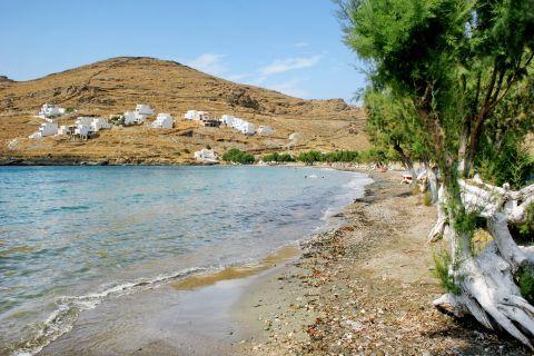 Episkopi: Cycladic houses, overlooking Episkopi beach