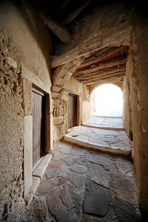 Town: Inside the Castle of Naxos