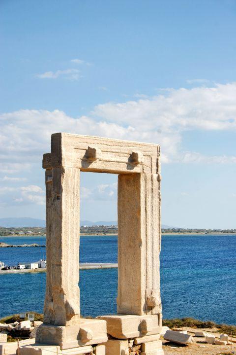 Town: The Portara of Naxos