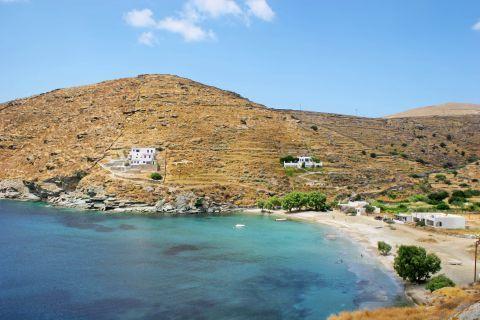 Kalo Livadi: Blue waters and hills