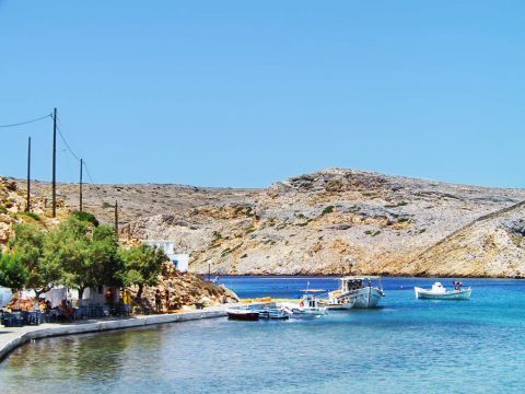 Heronissos: Hills and blue waters, perfectly combined