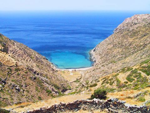 Vroulidia: Beautiful seaview
