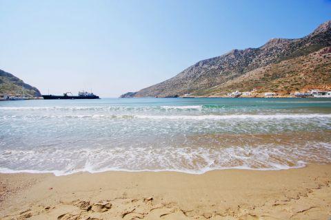 Kamares beach: At the seaside