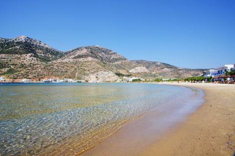 Kamares beach: Beautiful landscape