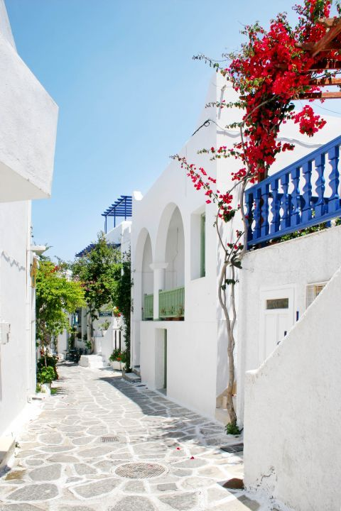 Cycladic houses