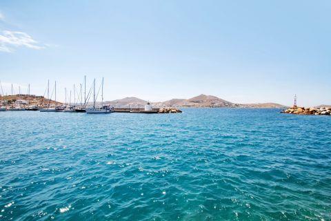 Naoussa: Azure waters