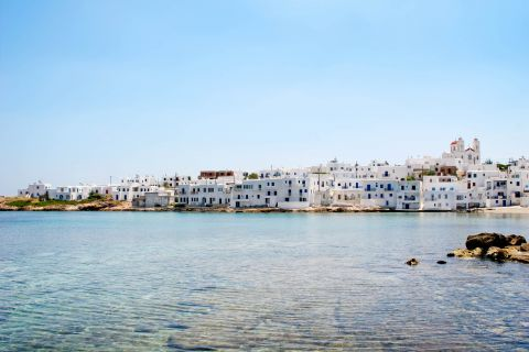 Naoussa: Cycladic houses